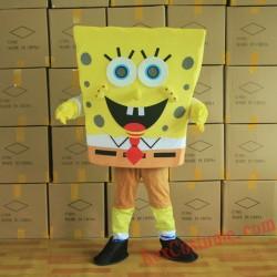 Spongebob Mascot Costume for Adult