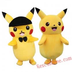 Pikachu Mascot Costume for Adult