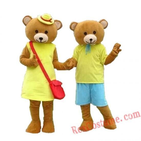 Bear Mascot Costume for Adult