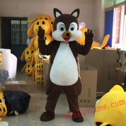 Chipmunk Mascot Costume for Adult