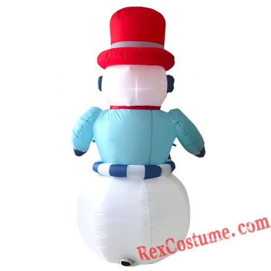 Christmas Inflatable Snowman Blow Up Party Decor