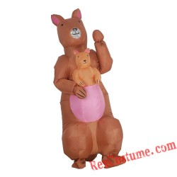 Adult Inflatable Kangaroo Costumes Blow Up