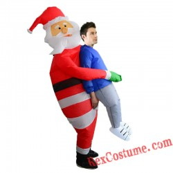 Christmas Santa Claus Inflatable Costume Adult