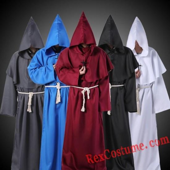 Priest Wizard Robe Costume