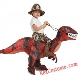 T-rex Dinosaur Velociraptor Inflatable Costume Adult / Kids