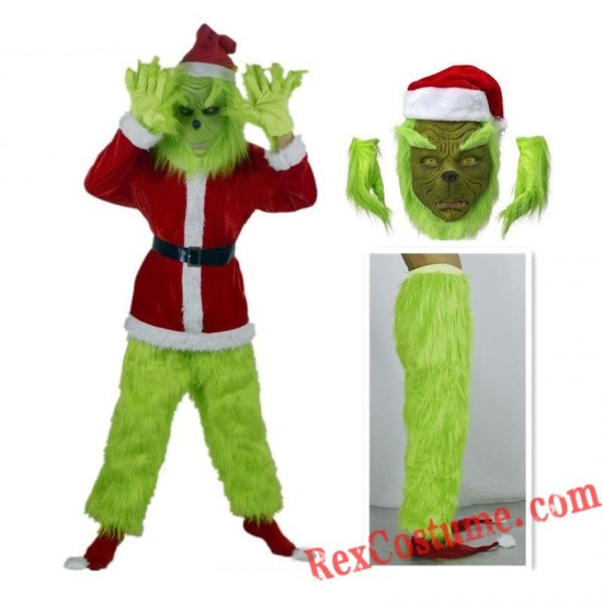 Grinch Christmas Cosplay Costume Grinch Costume