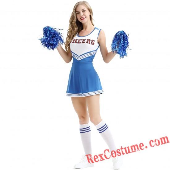 Cheers Cheer Leader Costume Schoolgirl Dress