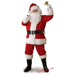 Christmas Santa Claus Costume Santa Suit