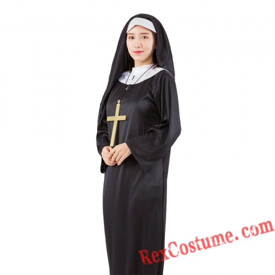Priest Nun Costume