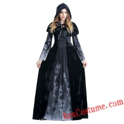 Halloween Reaper Skull Women Dress