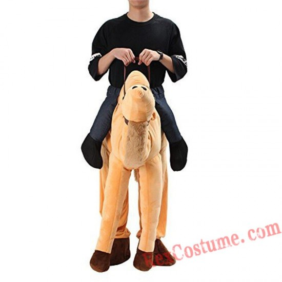 Adult Piggyback Ride On Carry Me Camel Mascot costume